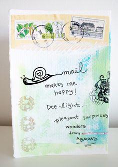 snail mail aka Happy mail