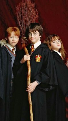 Harry, Ron e Hermione. my loves❤️ Harry Potter Tumblr, Harry James Potter, Harry Potter Hermione, Ron And Harry, Mundo Harry Potter, Harry Potter Pictures, Harry Potter Universal, Harry Potter Fandom, Harry Potter Characters