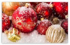 Christmas Ornaments HD desktop wallpaper : High Definition : Fullscreen : Mobile : Dual Monitor