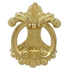 "Brainerd Mfg Co/liberty Hdw 75311 Fleur D' Lis Door Knocker - Polished Brass by Brainerd Manufacturing. $9.00. Plated Brass. Fleur-De-Lis Door Knocker. Measures 6"" x 5"". Fleur-De-Lis Door Knocker. Measures 6"" x 5"". Plated Brass.. Save 65% Off!"