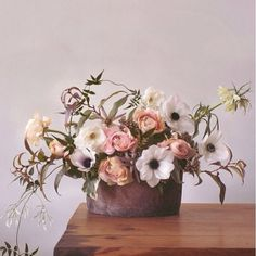 From a collaboration we did with @shopterrain using their lovely linen wrapped pot.