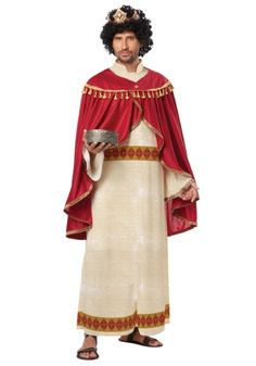 Adult Three Wise Men Melchior of Persia Costume A little more expensive but looks nicer (40.00)