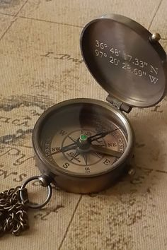 60 Dapper Father's Day Gifts Dad Will Love For the Adventurer: This vintage-inspired compass can be engraved with a design or name of your choice. Ankle Tattoo Small, Ankle Tattoos, White Tattoos, Wrist Tattoo, Tiny Tattoo, Small Tattoos, Garter Tattoos, Rosary Tattoos, Bracelet Tattoos
