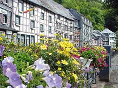 Germany - Monschau. Near the border of The Netherlands and Germany.