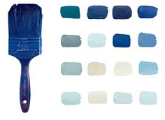 A blue color guide by Ralph Lauren Paint