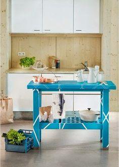 10 maneiras de usar mesa Groland (IKEA)