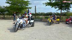 Bresse Trike 01 visite la Camargue avec le petit Camarguais