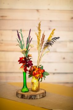 These whimsical, happy arrangements are so very enchanting!