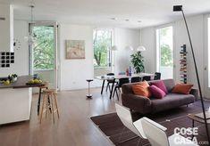 soggiorno-sala-da-pranzo Sweet Home, New Homes, Dining Room, Loft, House Design, Interior Design, Grande, Inspiration, Furniture