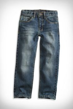 Little Boy Slim Straight-Leg Jeans (2-7) | guess kids