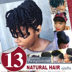"Finding a ""go-to"" natural hair updo hairstyle that fits into your weekly routine, will be a life saver.   It is not easy keeping up with styling hair."