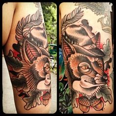 Tattoo by Nick Kater done @ Bläckfisk Tattoo Co.