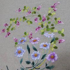 Broderie fleur