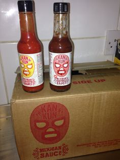 New Mexican chilli sauces from Kan-kun Mexican Chilli, New Mexican, Carnitas, Chipotle, Hot Sauce Bottles, Sauces, Food, Meal, Essen