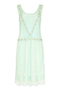 UK18 US14 AUS18 Charleston Mint Vintage inspired 1920s Flapper Great Gatsby Downton Abbey Rehearsal Dinner Bridal Shower Dress New Hand Made by Gatsbylady on Etsy https://www.etsy.com/listing/236816937/uk18-us14-aus18-charleston-mint-vintage