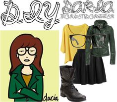 Daria | 46 Awesome Costumes For Every Hair Color