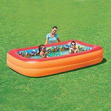 Bestway 3D Interactive Adventure Rectangular Inflatable Pool - 8.5 feet x 69 inch