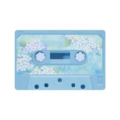 Vintage Retro Soft Blue Cassette Tape Doormat 23.6 with free shipping!