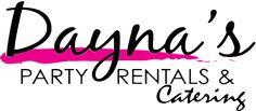 Dayna's Party Rentals and Catering |Tents rentals table rentals Photo Booth Rentals chair rental linens rentals popcorn machine rentals cott...