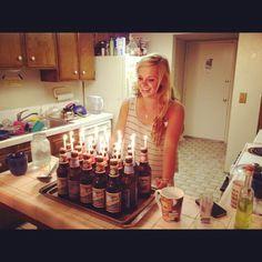 Beer Cake! get it?(;