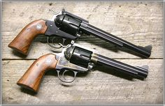 Makers of fine custom revolvers for over 30 years. Custom Revolver, Revolver Pistol, Single Action Revolvers, Smith Wesson, Cool Guns, Guns And Ammo, Pistols, 30 Years, Firearms