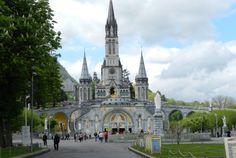 die berühmte Basilika in Lourdes 2012  Fotoaufnahme von Katharina Bach privat