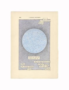 RA Summer Exhibition 2016 work 560: A HUMUMENT P.190: SILENCE AND STARS by Tom Phillips RA, £300.00. #RASummer