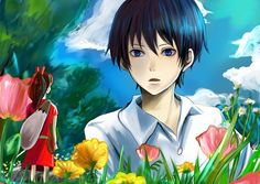 The Secret World of Arrietty, Arrietty, Shou, Anime, Fanart, Studio Ghibli, Pixiv, Karigurashi no Arrietty