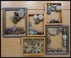 """Stones in empty frames from Rachel ("""",)"""