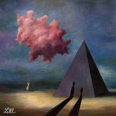 Wolfgang Lettl 1919-2008   German Surrealist painter   Tutt'Art@   Pittura * Scultura * Poesia * Musica  