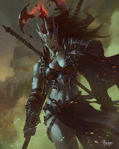Eris from Mobius Final Fantasy #illustration #artwork #gaming #videogames #gamer