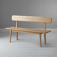 Bench With Back For Dining Table - In the expanding universe of outside benches, a choice growing in consumer popularity are Wooden Dining Bench, Dining Room Bench, Dining Table, German Decor, Bench With Back, Bench Designs, Minimalist Furniture, Woodworking Furniture, Mid Century Modern Furniture