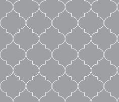ogee_grey1-ed-ch fabric by hollydavidson on Spoonflower - custom fabric