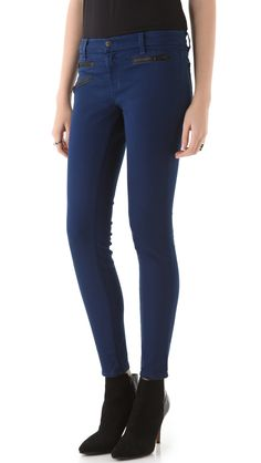 J Brand Zoey Triple Zip Skinny Jeans  ee1c4e9c521d3