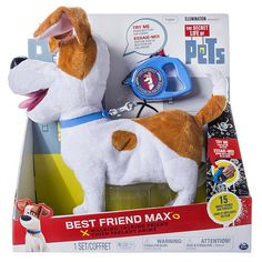 """The Secret Life of Pets - Best Friend Max - Spin Master - Toys """"R"""" Us"""