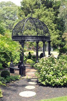 Victorian cast iron gazebo