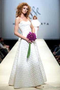 Makny Mrta Fashion Show One Shoulder Wedding Dress, Fashion Show, Wedding Dresses, Bride Dresses, Bridal Gowns, Wedding Dressses, Bridal Dresses, Wedding Dress