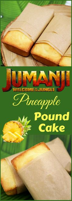 Jumanji Pineapple Pound Cake Recipe