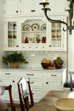 Built- In Cabinets & Desk Area in Kitchen or Dining Area. Traditional (Scott Sanders)