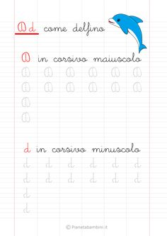 Schede di Pregrafismo delle Lettere dell'Alfabeto da Stampare | PianetaBambini.it Montessori, Script, Alphabet, Learning, David, Veronica, Handwriting, Kids Crafts, Gabriel
