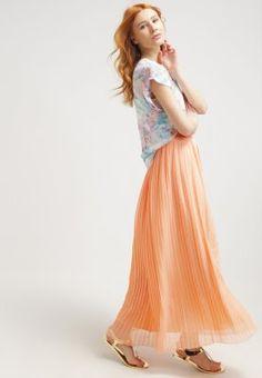 BOSS Orange BEFLOWY - Maxirock - light pastel orange - Zalando.de