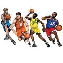 Walmart: Beistle - 55093 - Basketball Cutouts- Pack of 12