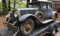 Waiting 54 years: 1929 Franklin Brougham 135 - http://barnfinds.com/waiting-54-years-1929-franklin-brougham-135/