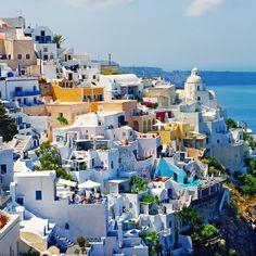 Fira town - Santorini