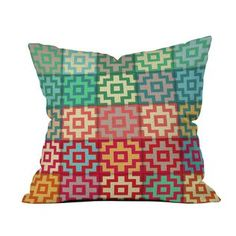 Different Shades Outdoor Pillow