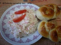 Recept Krabí salát - Naše Dobroty na každý den Krabi, Meat, Food, Meals, Yemek, Eten