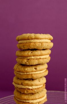 A copycat version of the famous Girl Scout's Do-Si-Do Oatmeal Peanut Butter Cookies.  If you love Nutter Butters, this recipe will win you over!