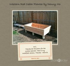 Raised Garden Planter Box - Build Your Own in a Weekend