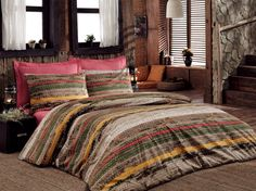 Sara Kahve by Cottonbox Comforters, Blanket, Bed, Furniture, Home Decor, Creature Comforts, Quilts, Decoration Home, Room Decor