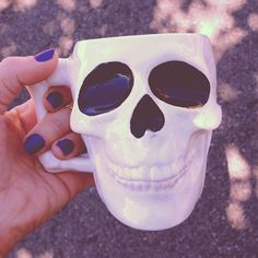 paint your own skull mug.